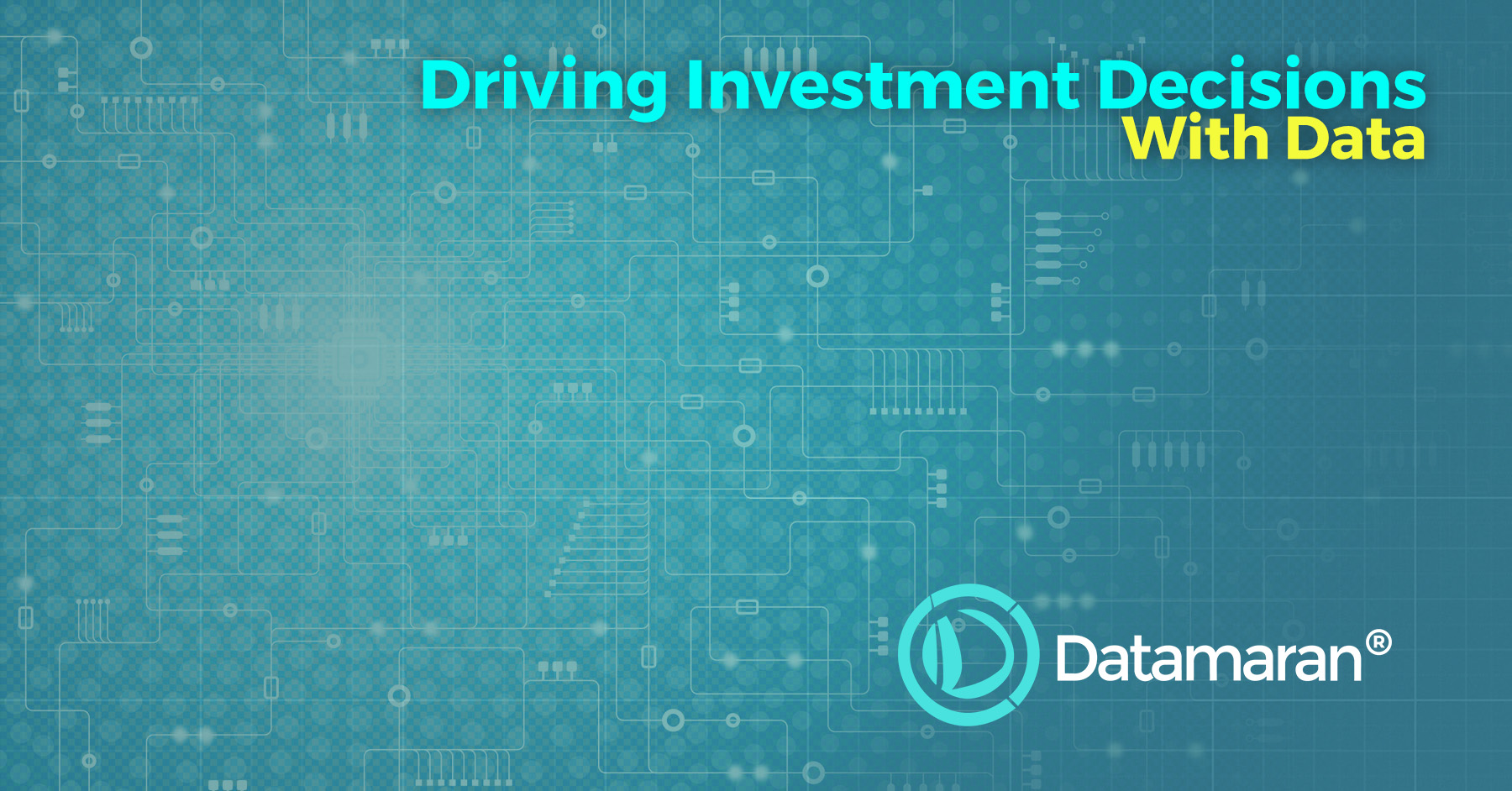 Data driven investment