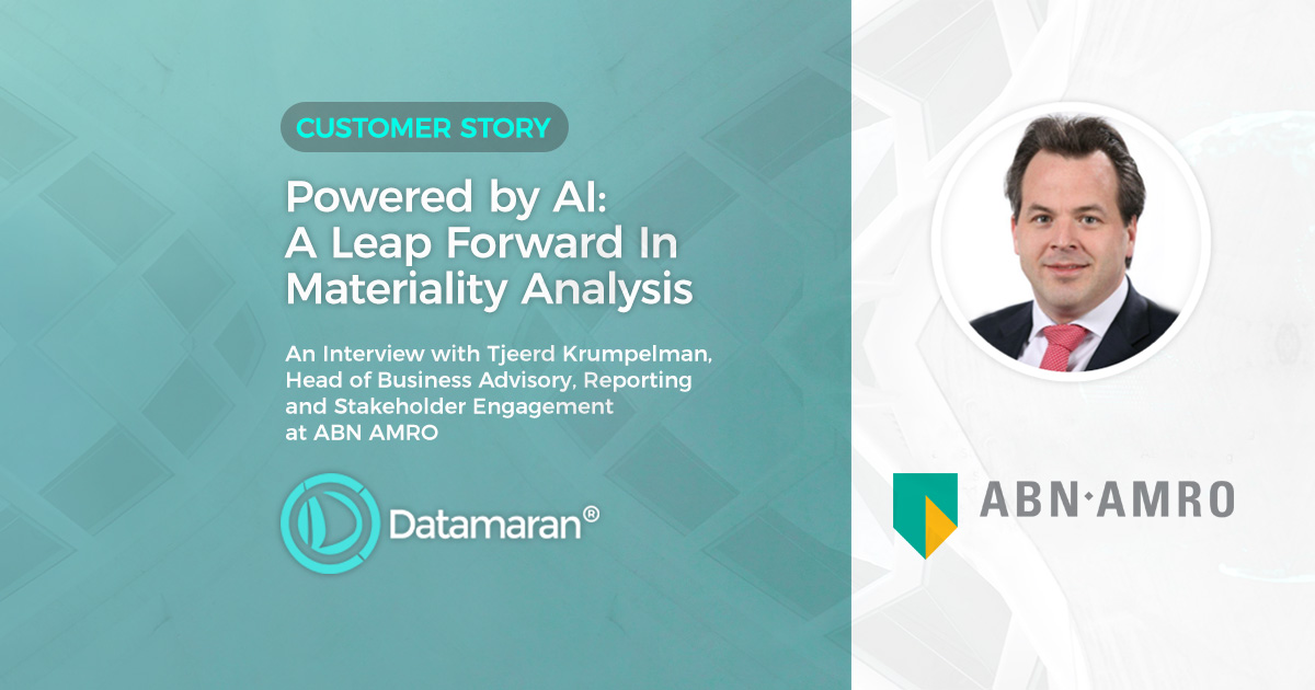 A leap Forward In Materiality Analysis - ABN AMRO Customer Story