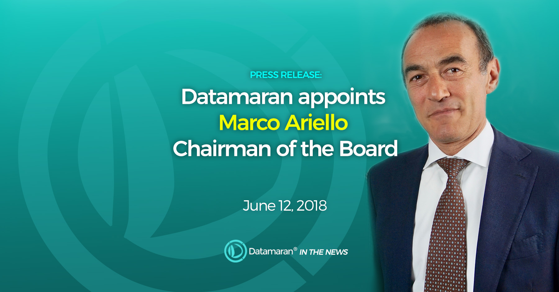 Datamaran appoint Marco Ariello Chairman of the board