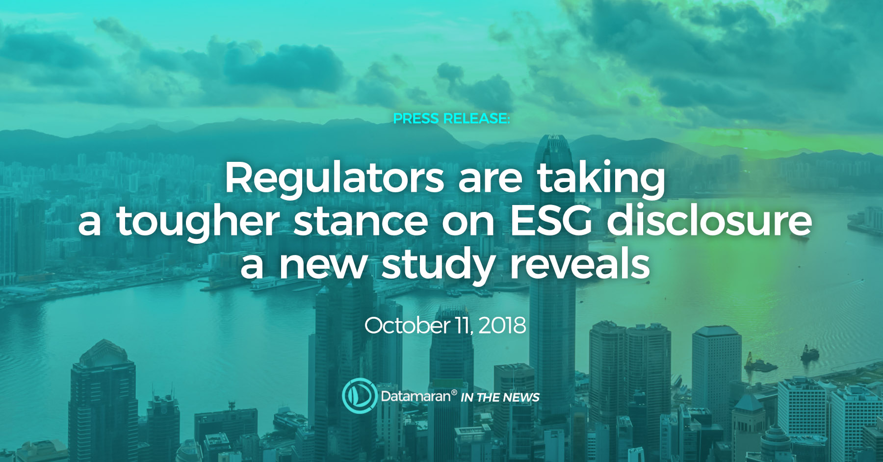 Datamaran Global Insights Report: Regulators are taking a tougher stance on ESG disclosure