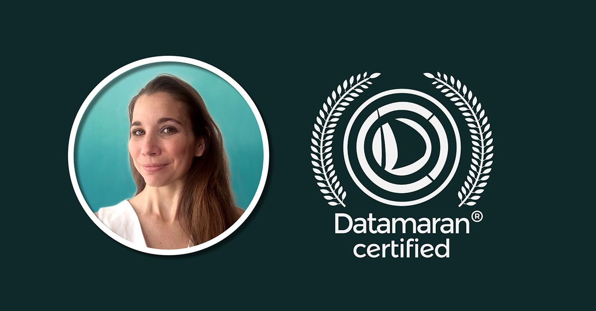 Datamaran Certification program: Q&A with Maeva Charles