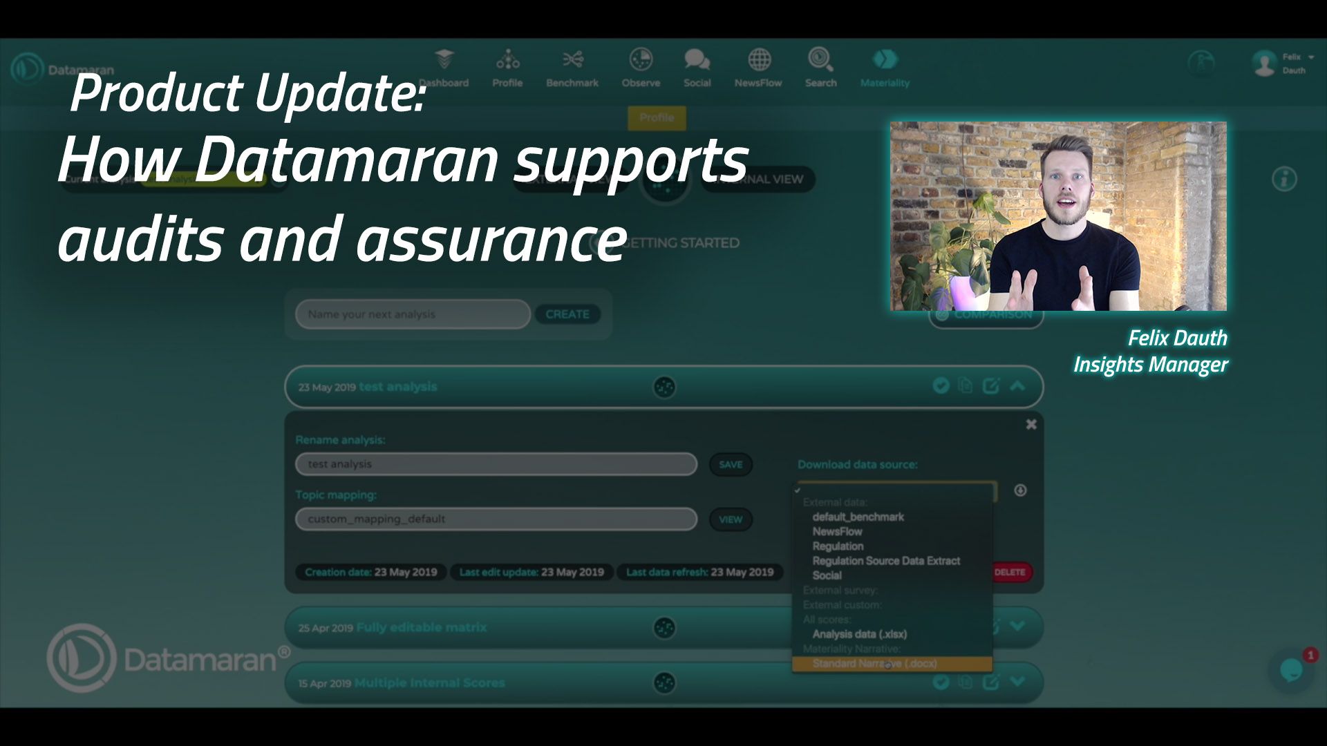 How Datamaran supports audits and assurance