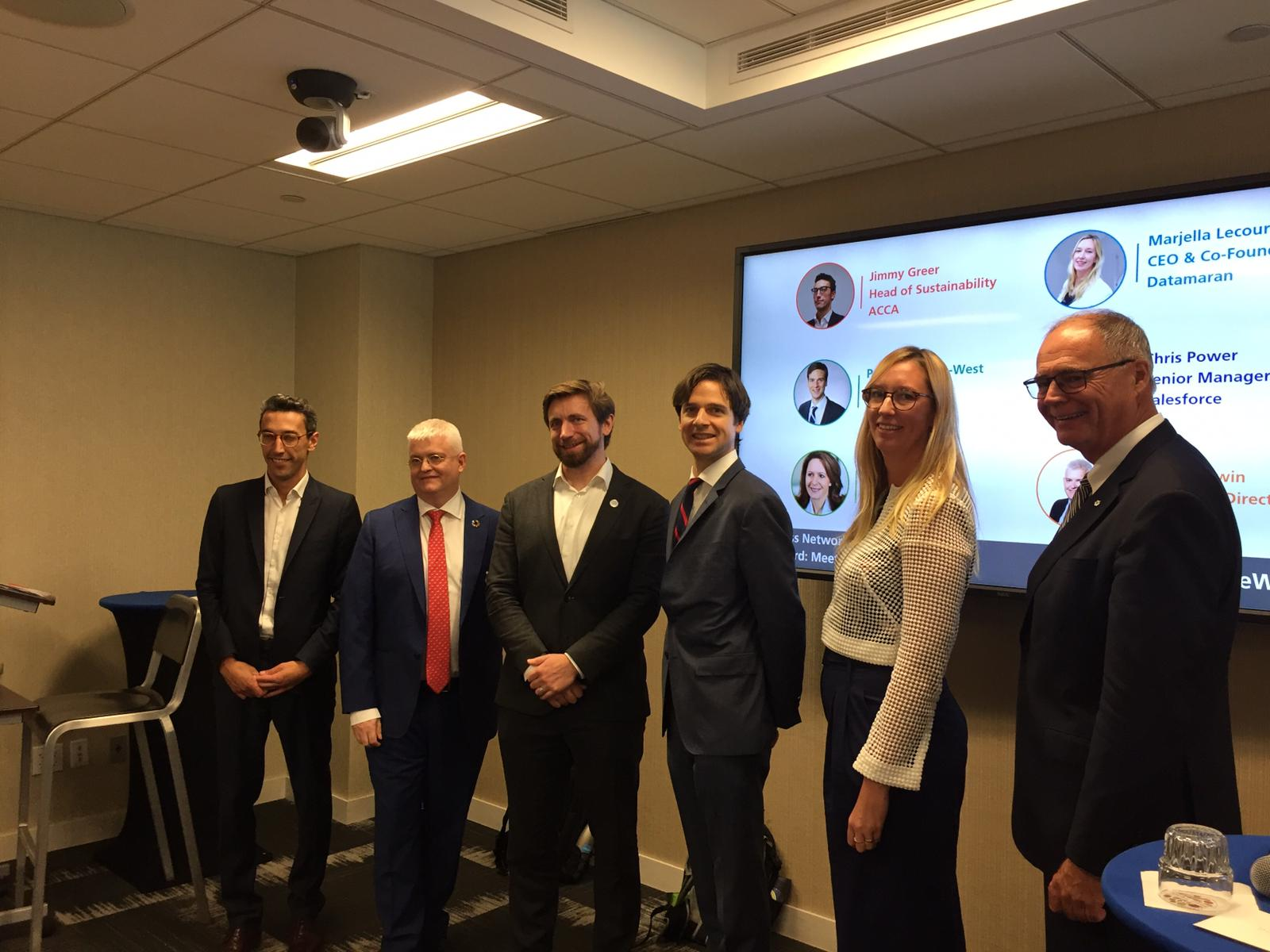 Creating Value in a Climate Emergency: Datamaran at Climate Week NYC